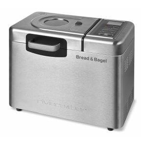 Riviera Bar QD794A Bread Bagel Machine à Pain Inox