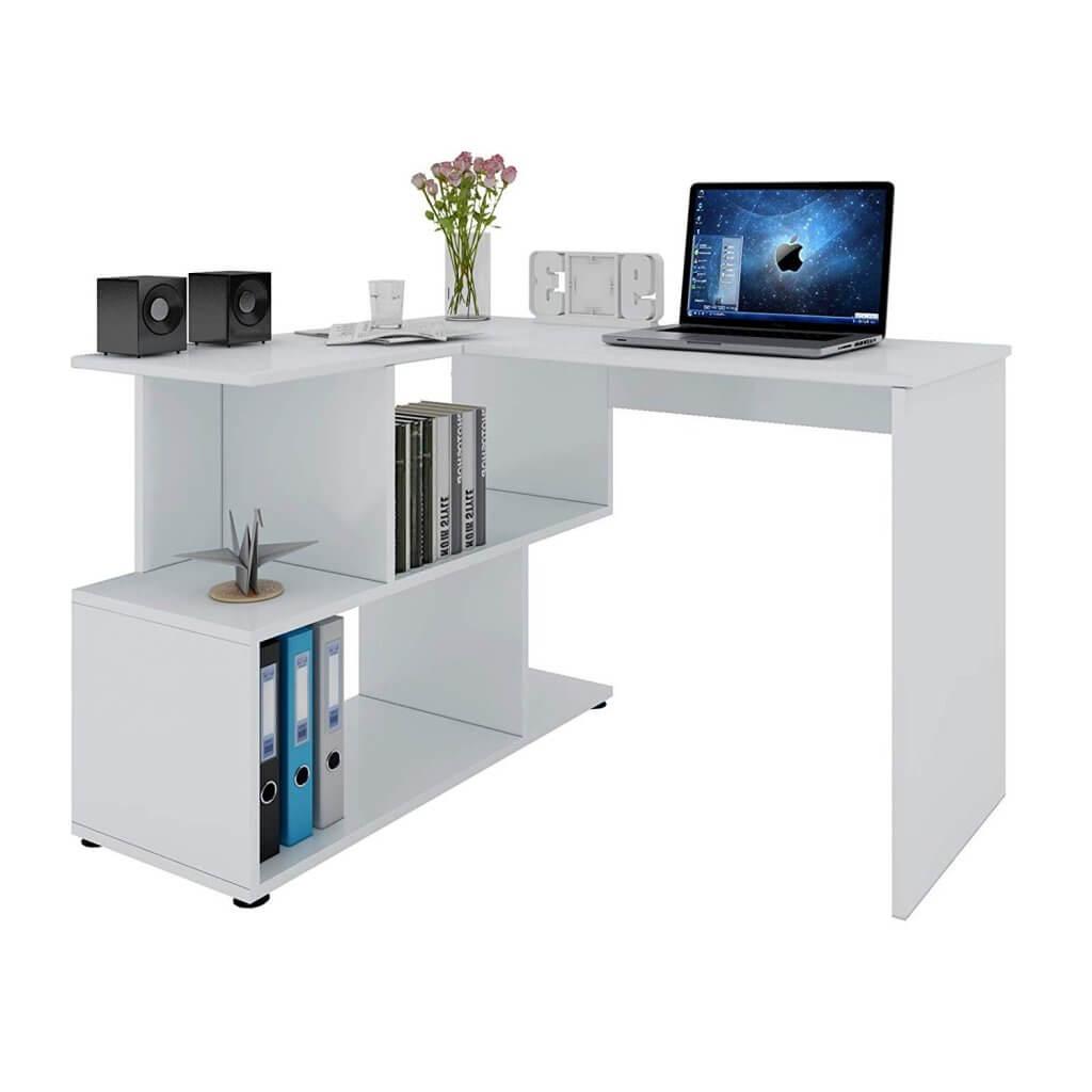 plus beau bureau blanc