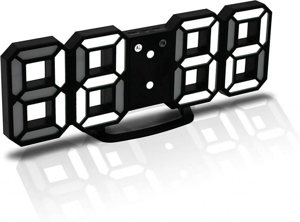 horloge à led