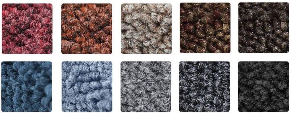 tapis marche couleur