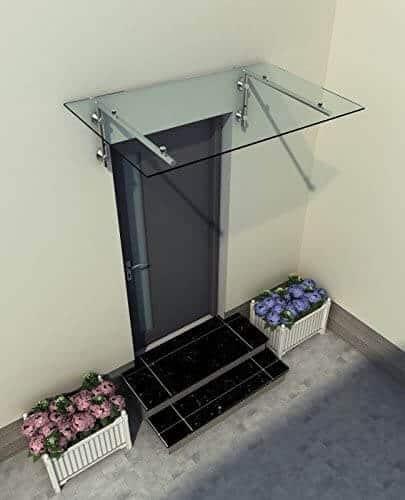 marquise en verre de sécurité