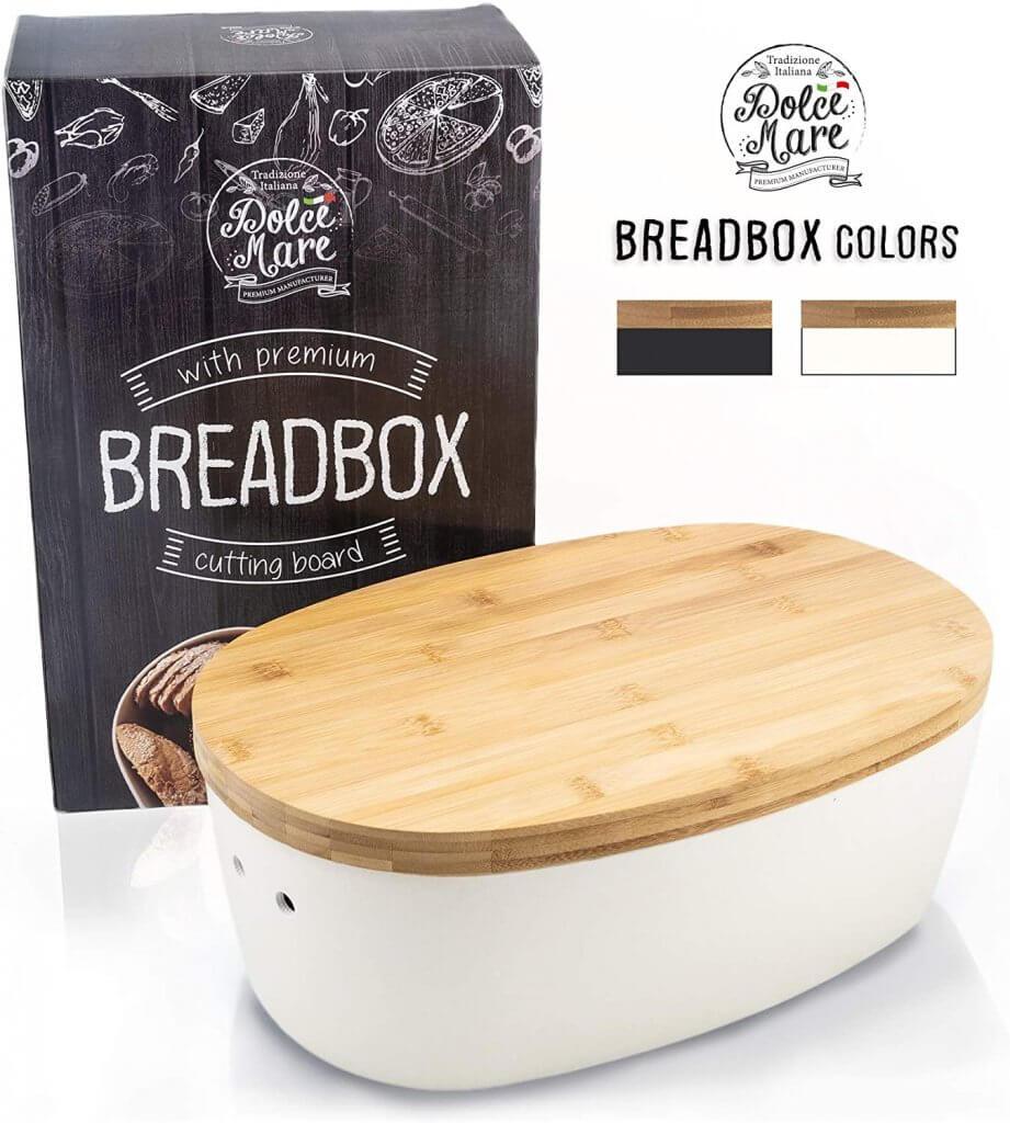 boite à pain avec planche à pain