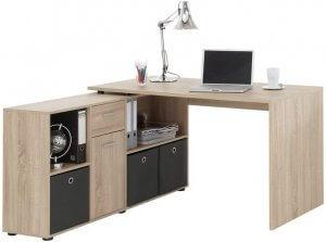 bureau avec angle à droite