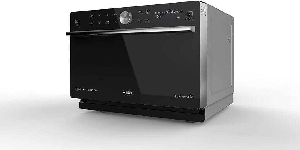 Four micro-ondes combiné Whirlpool MWP 3391 SB Comptoir