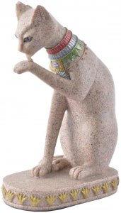 chat en pierre