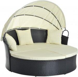 lit canapé de jardin de Outsunny