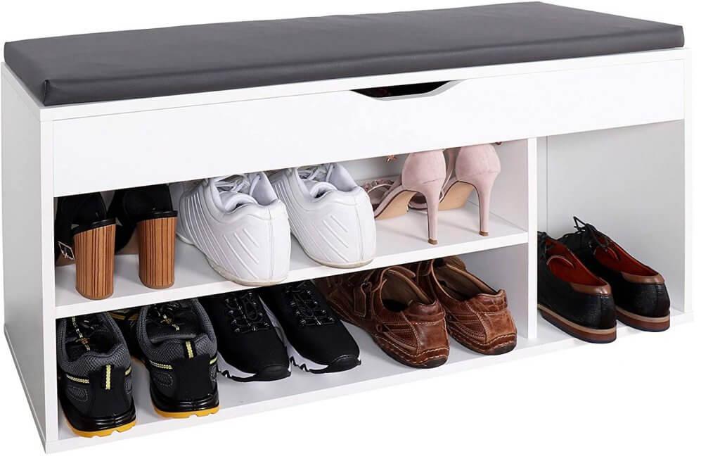 banc à chaussure simple