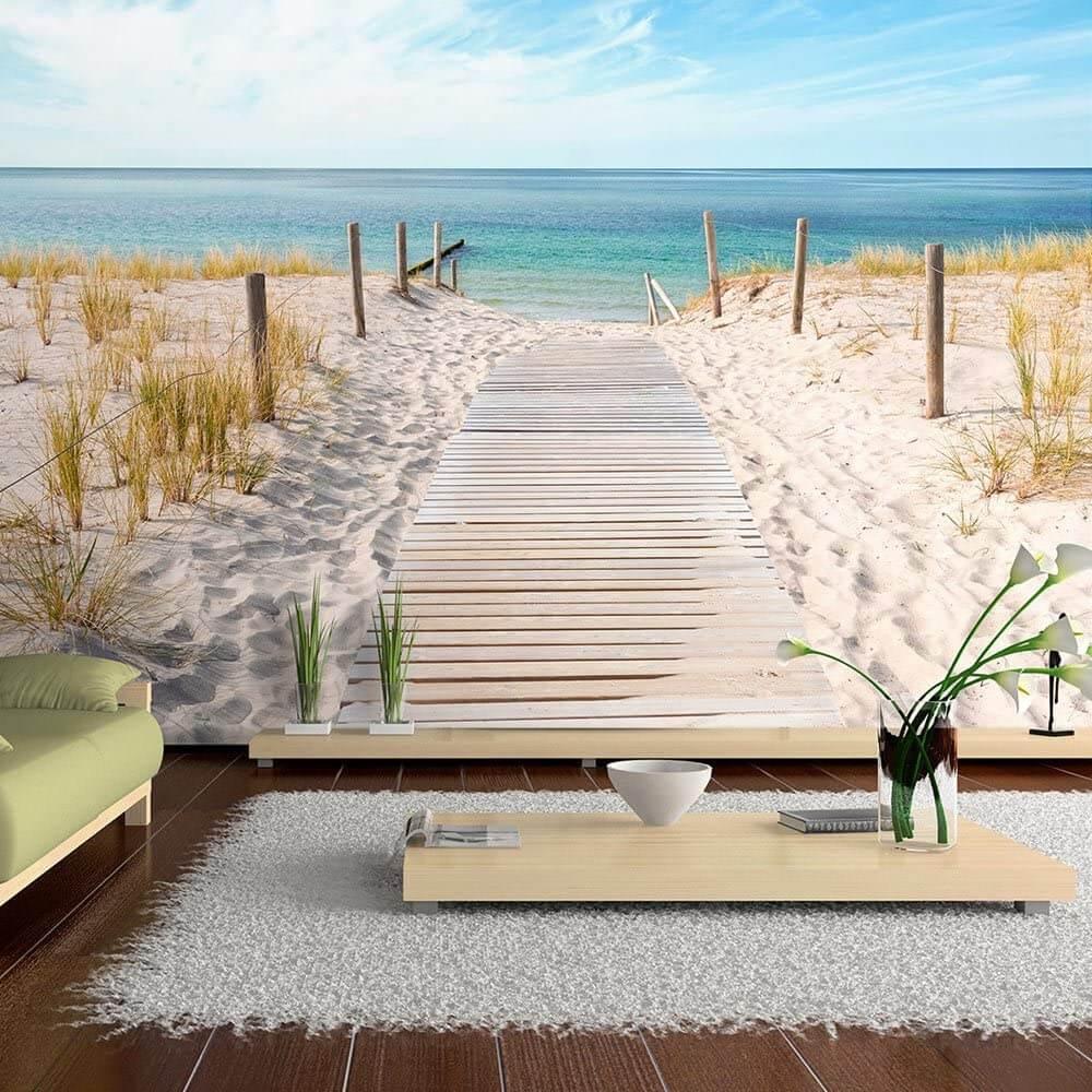 papier peint paysage plage