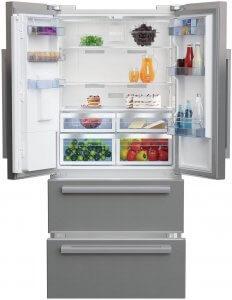 réfrigérateur américain Beko GNE60530DX