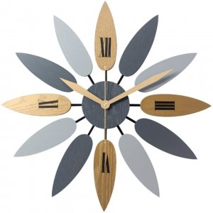 horloge fleur
