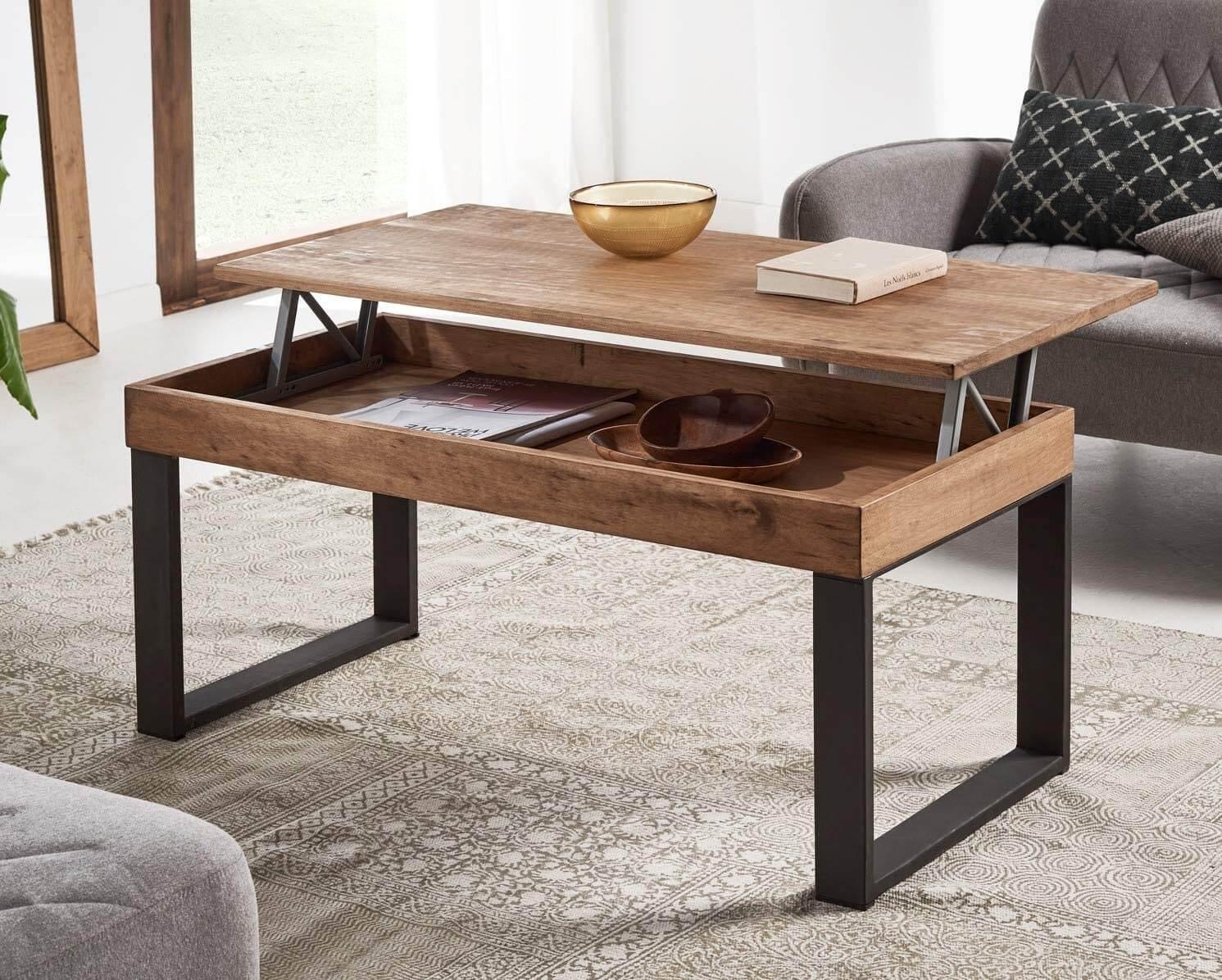 Table Basse avec Plateau Relevable  Sélection de beaux modèles