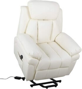 fauteuil inclinable blanc