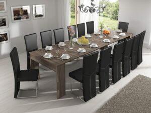 table à manger mega extensible